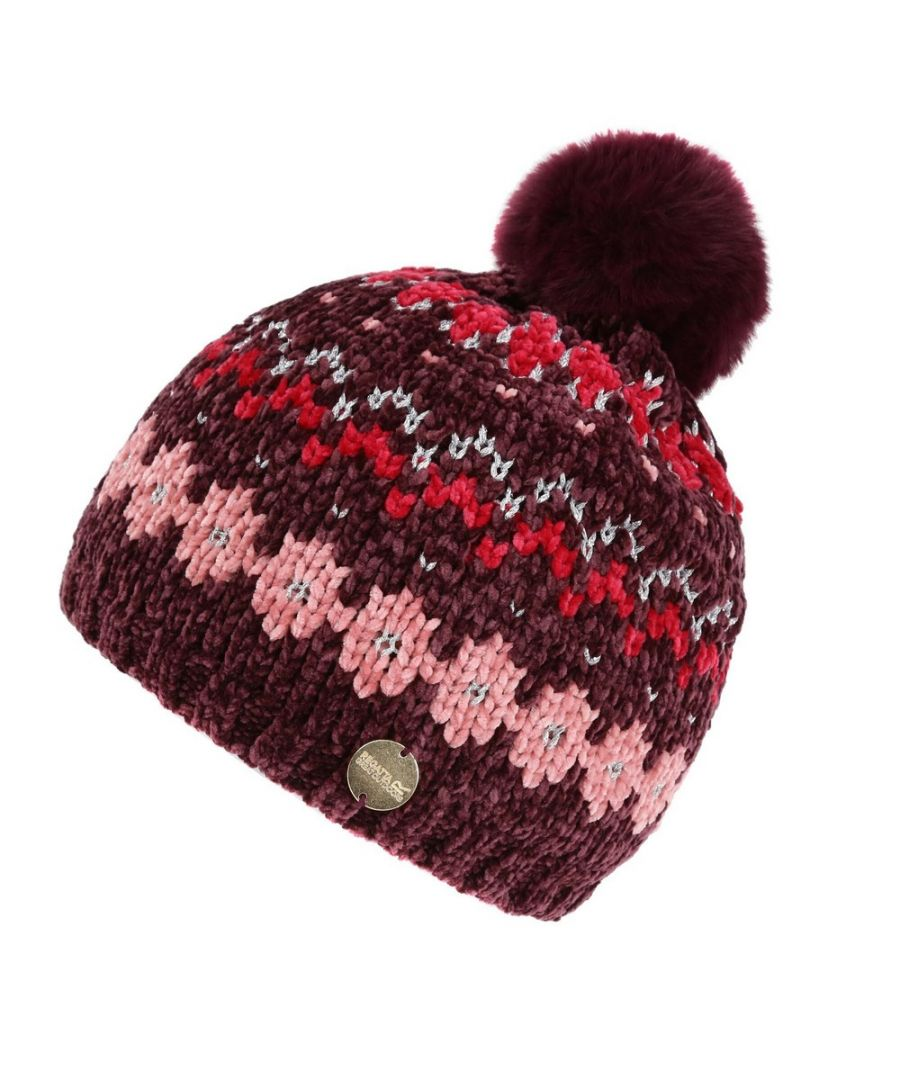 Image for Regatta Childrens/Kids Hedy Lux III Hat (Fig/Multicoloured)