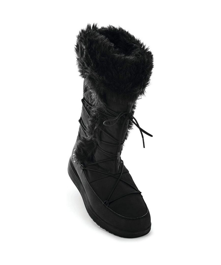 Image for Dare 2B Womens/Ladies Cazis Snow Boots (Black)