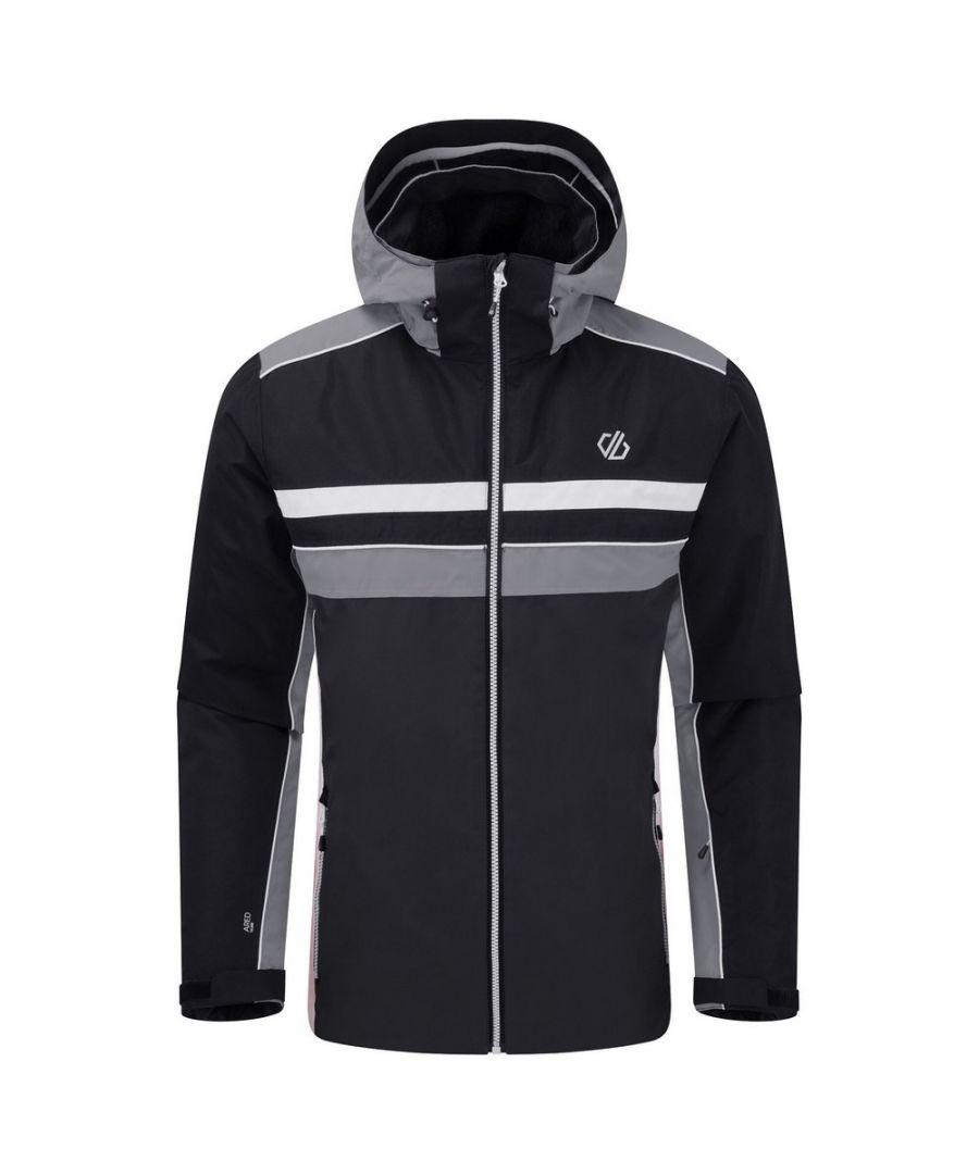 Image for Dare 2B Mens Vindicator Ski Jacket (Black/Ebony Grey)