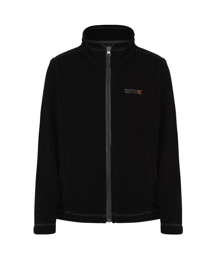 Image for Regatta Great Outdoors Childrens/Kids King II Lightweight Full Zip Fleece Jacket