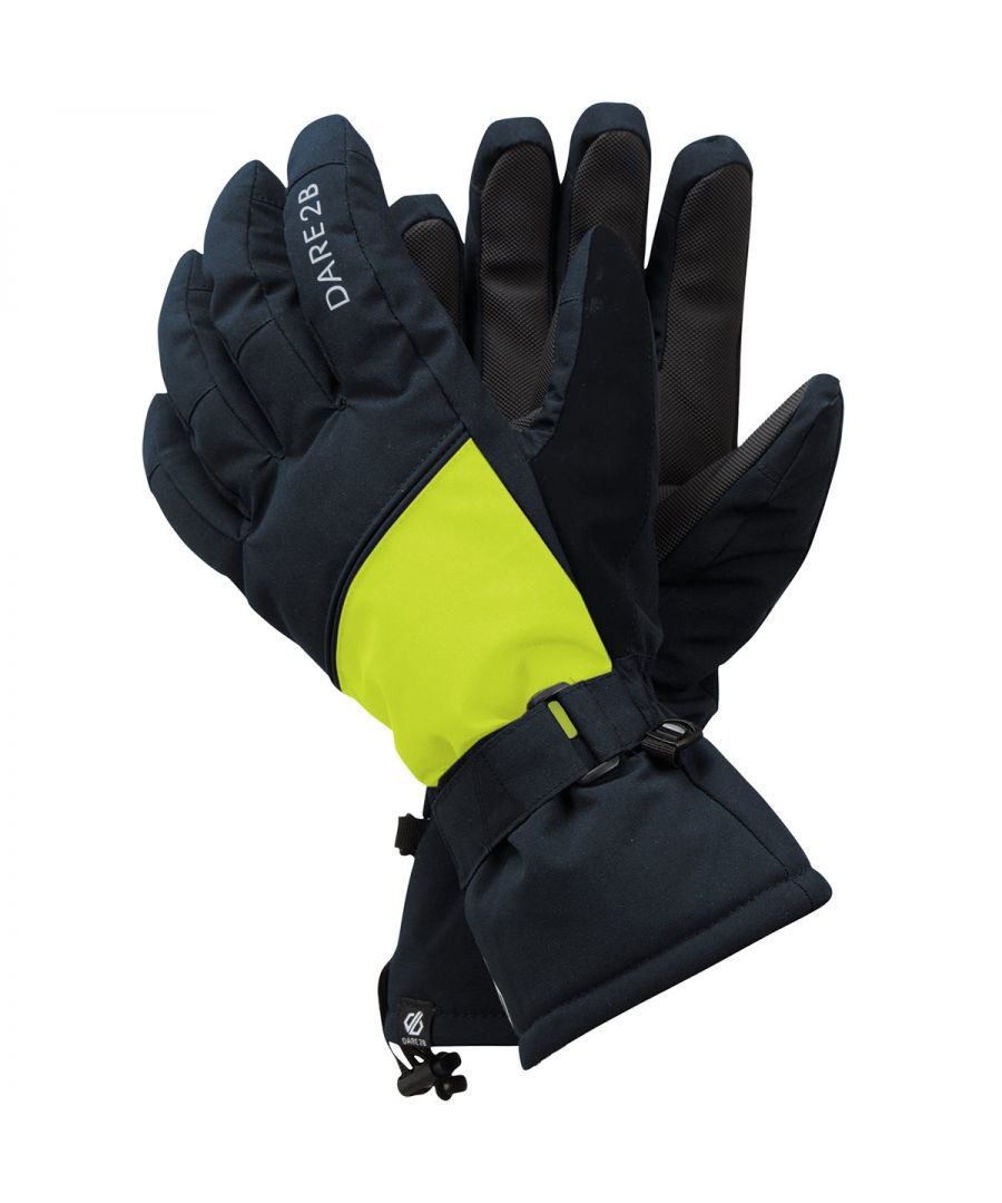 Image for Dare 2B Diversity Ski Gloves (Blue/Yellow)