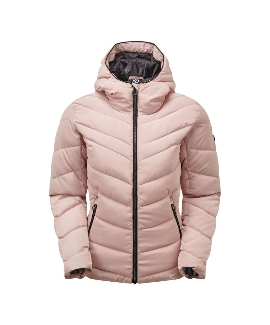 Image for Dare 2B Womens/Ladies Reputable Swarovski Insulated Jacket (Pale Mauve)