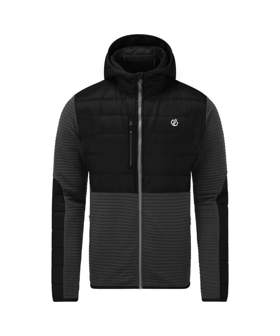 Image for Dare 2B Mens Narrative Hybrid Jacket (Black)