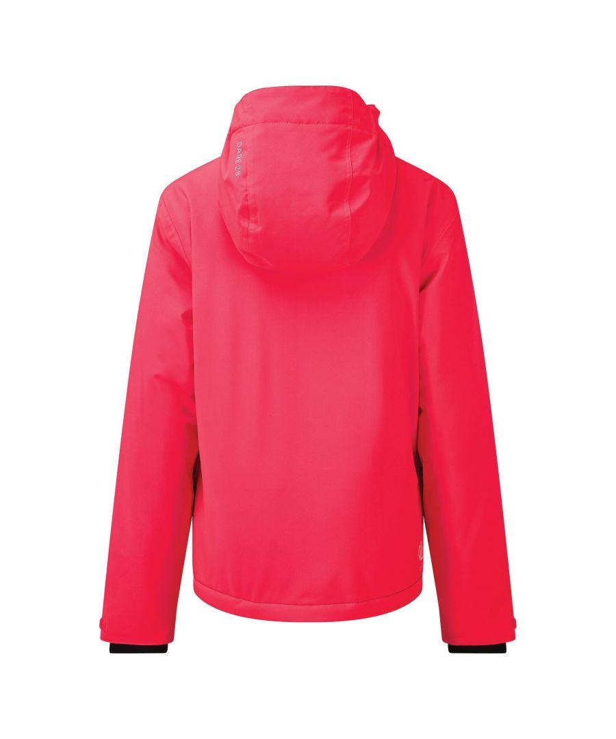 Image for Dare 2B Childrens/Kids Esteem Insulated Ski Jacket (Petrol Blue/Lime Punch)