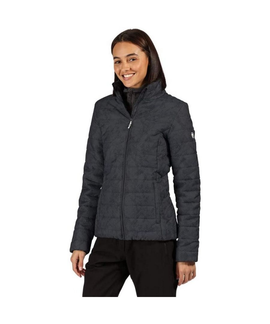 Image for Regatta Womens/Ladies Quilted Insulated Padded Jacket (Seal Grey)