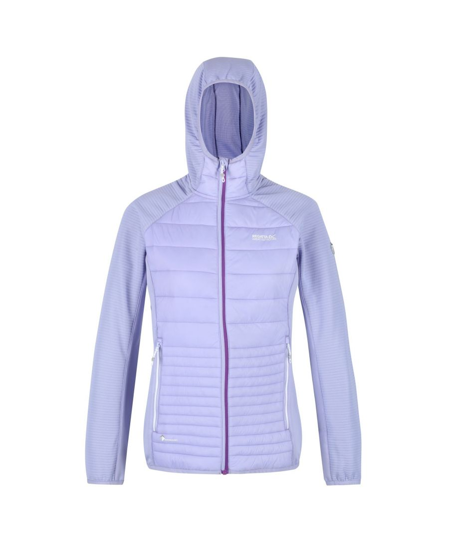 Image for Regatta Womens/Ladies Anderson V Hybrid Walking Jacket (Lilac Bloom)