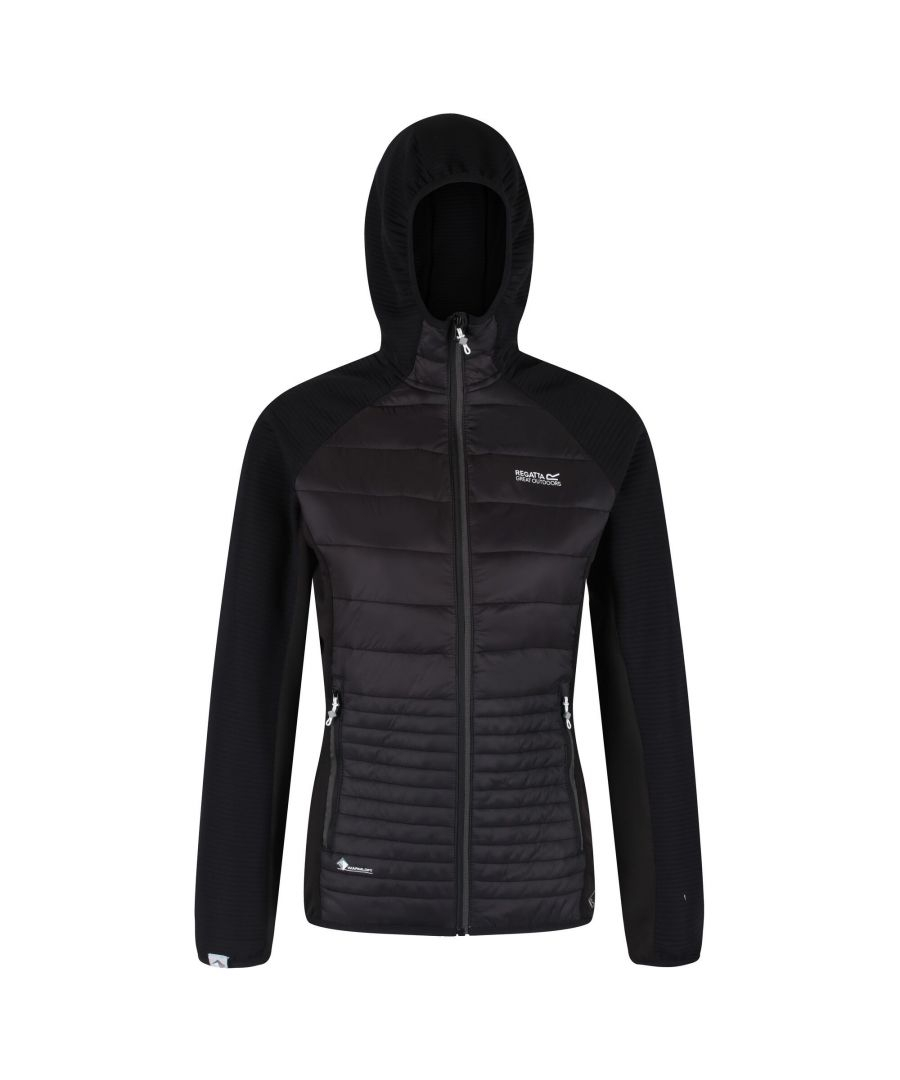 Image for Regatta Womens/Ladies Anderson V Hybrid Walking Jacket (Black)