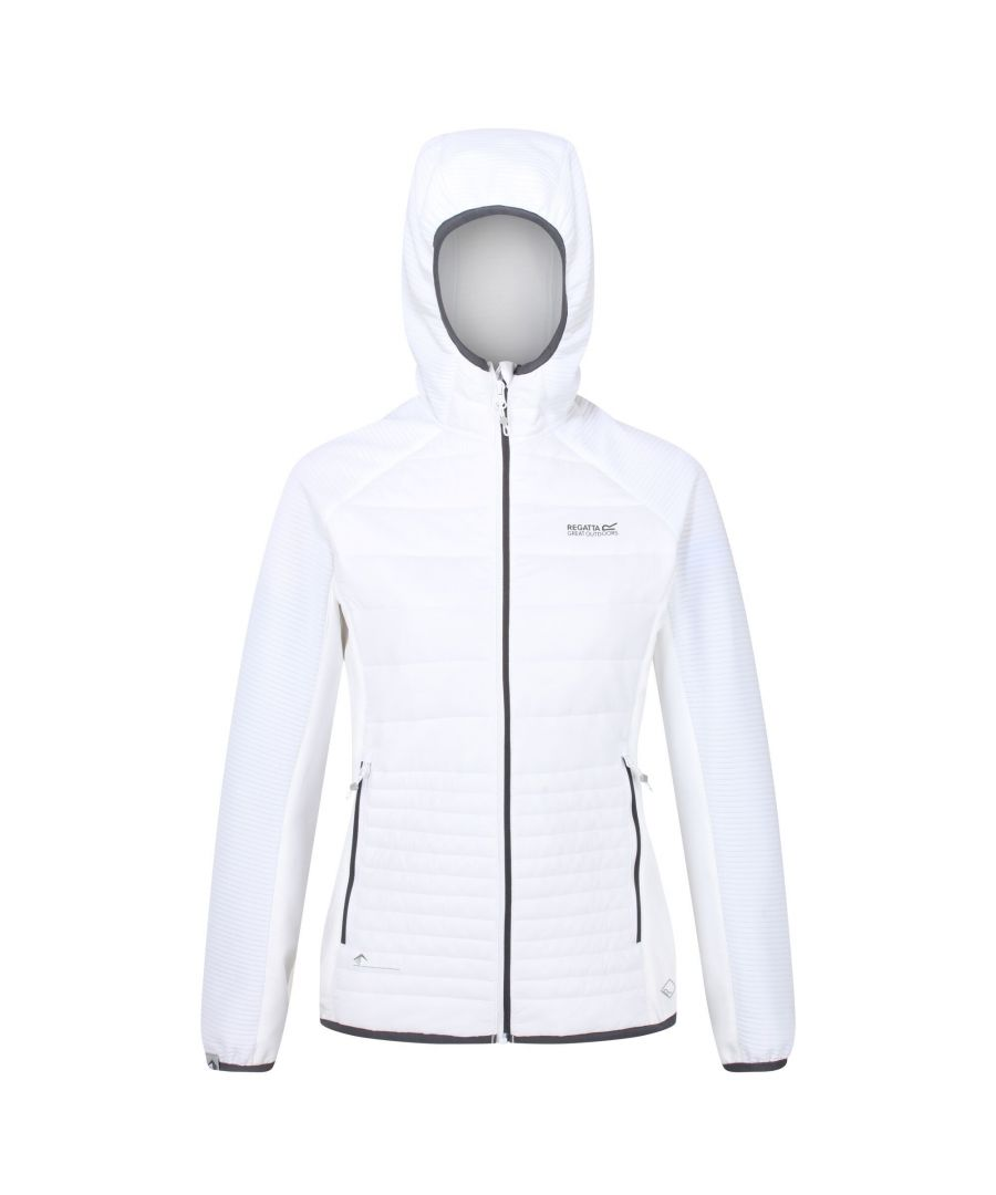 Image for Regatta Womens/Ladies Anderson V Hybrid Walking Jacket (White)