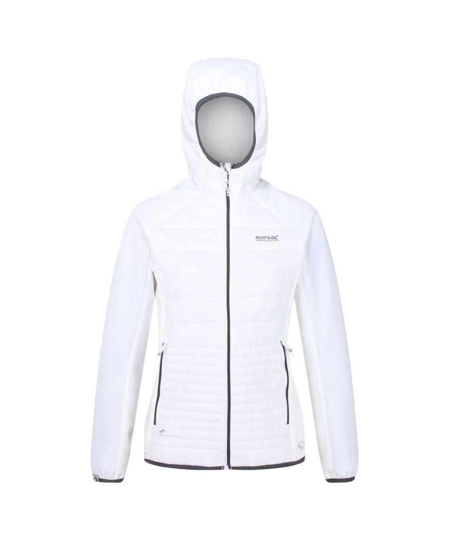 Image for Regatta Womens/Ladies Anderson V Hybrid Walking Jacket (White)