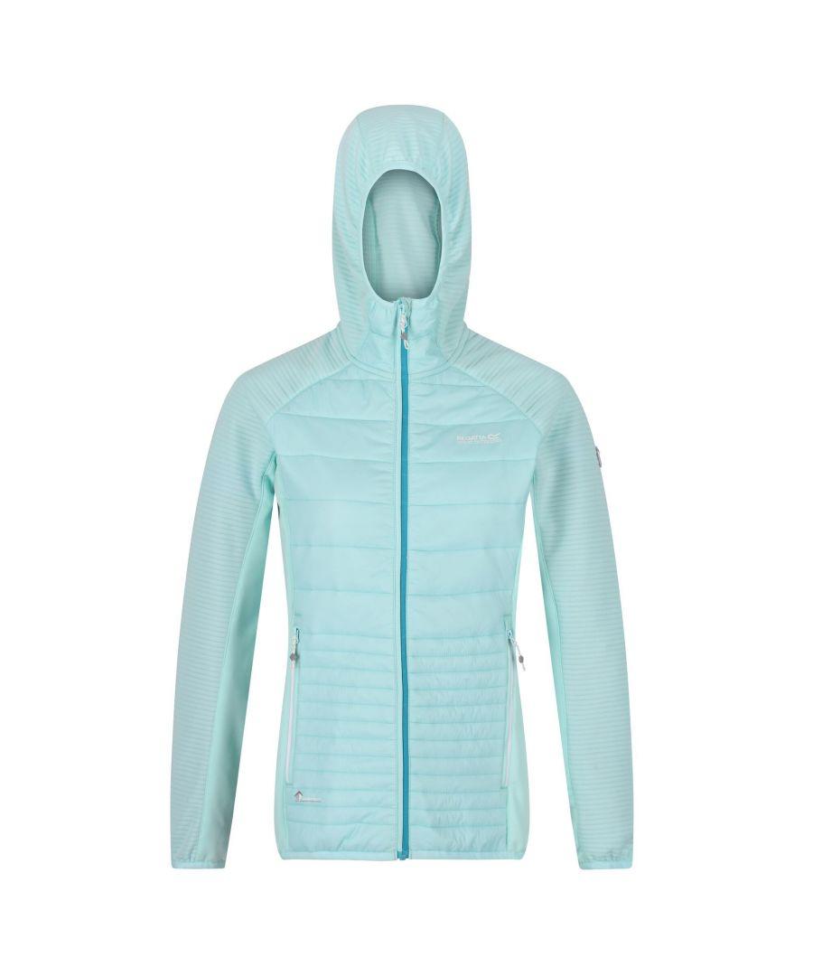 Image for Regatta Womens/Ladies Anderson V Hybrid Walking Jacket (Cool Aqua)