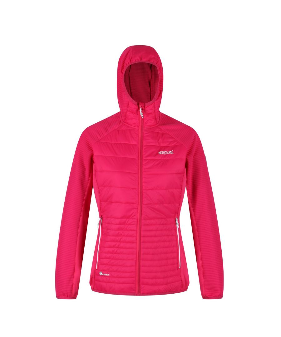 Image for Regatta Womens/Ladies Anderson V Hybrid Walking Jacket (Duchess Pink)