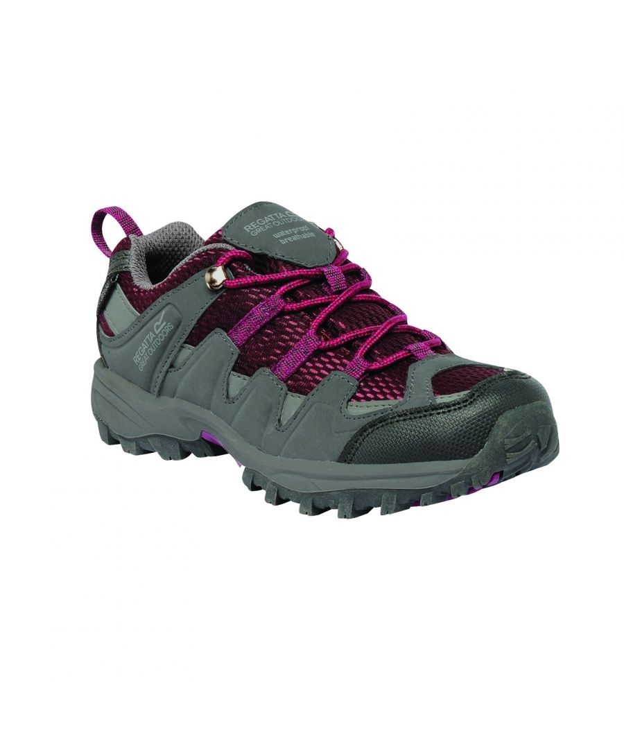 Image for Regatta Great Outdoors Childrens/Youths Garsdale Low Junior Hiking Shoes