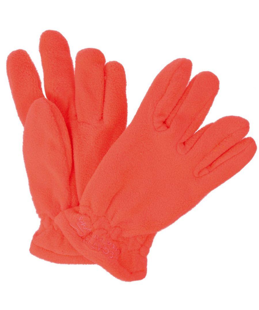 Image for Regatta Great Outdoors Kids Taz Gloves II (Orange)