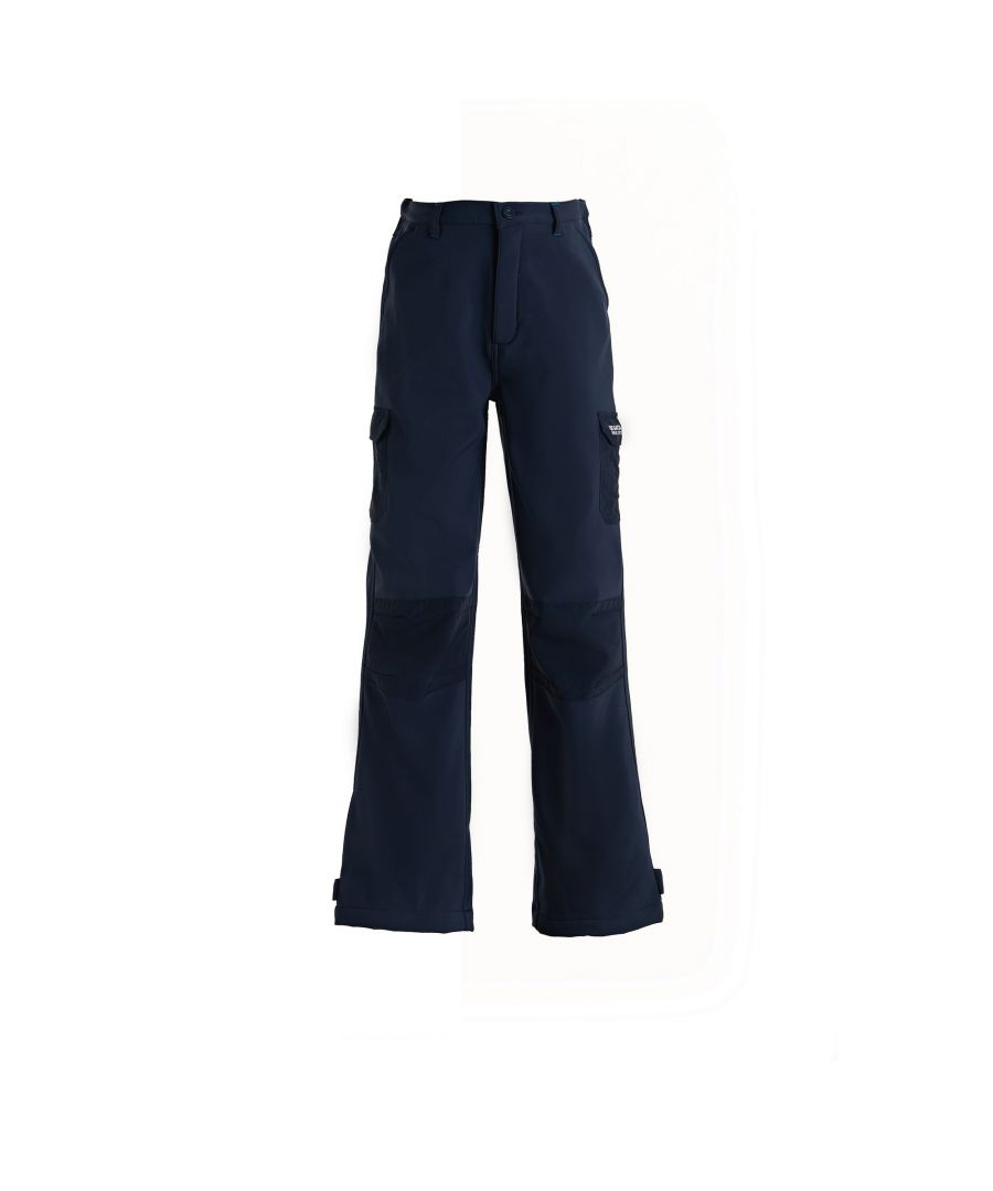 Image for Regatta Great Outdoors Kids Boys Adventure Tech Softshell Trousers