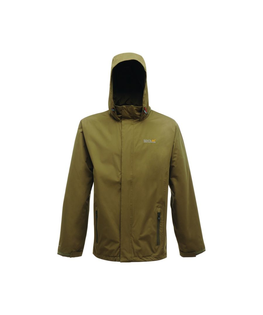Image for Regatta Great Outdoors Mens Outdoor Classic Matt Hooded Waterproof Jacket
