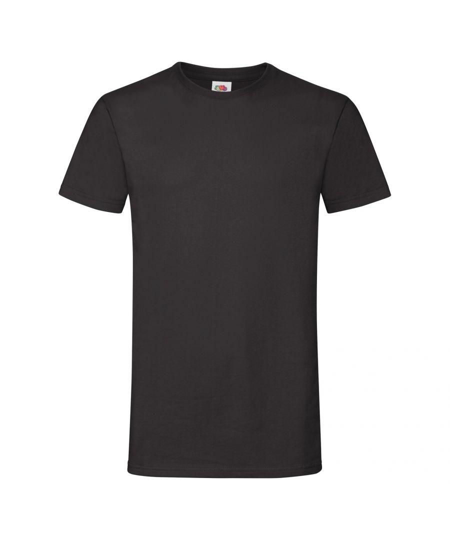 Image for Fruit Of The Loom Mens Sofspun® Short Sleeve T-Shirt