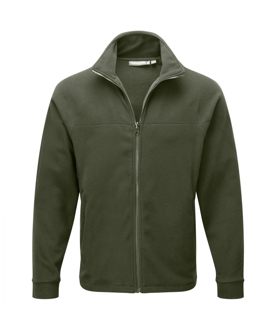 Image for Craghoppers Mens Basecamp 200 IA Mid Weight Full Zip Fleece Jacket