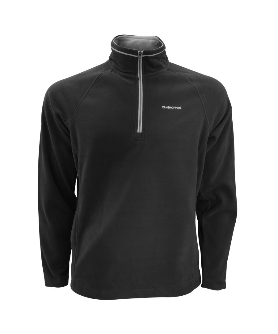 Image for Craghoppers Mens Selby Half Zip Micro Fleece Top