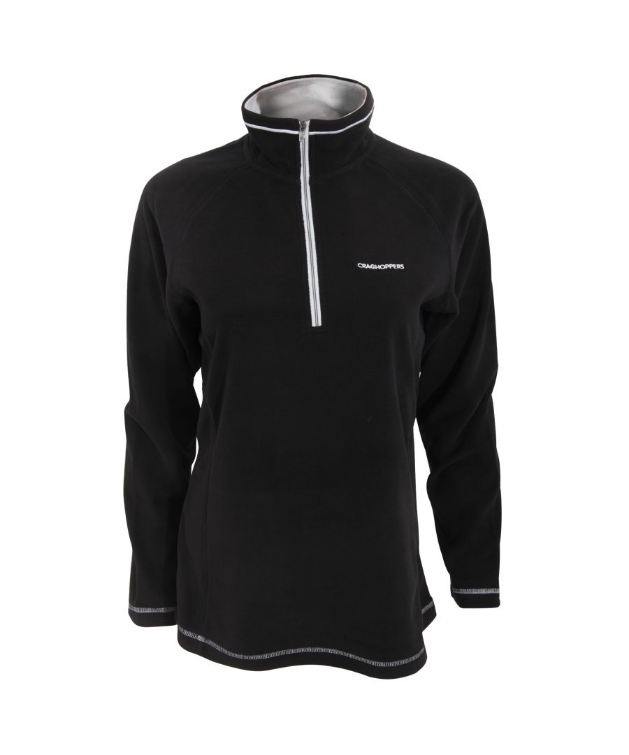 Image for Craghoppers Womens/Ladies Seline Half Zip Micro Fleece Top