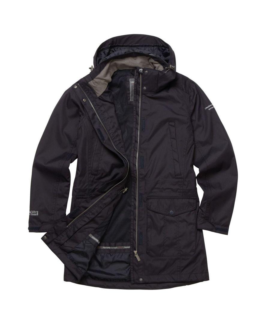 Image for Craghoppers Womens/Ladies Expert Kiwi Long Jacket