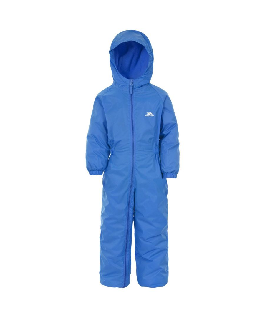 Image for Trespass Baby Unisex Dripdrop Padded Waterproof Rain Suit