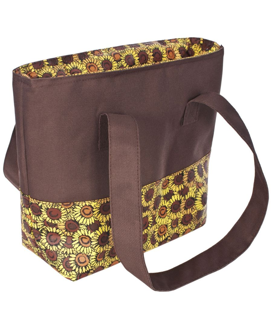 Image for Trespass Womens/Ladies Pack Sunflower Print Lunch Bag