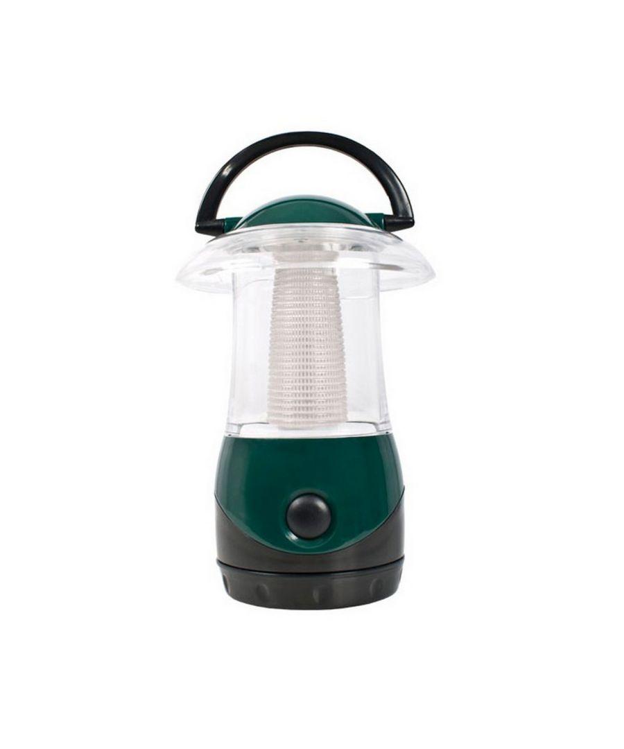 Image for Trespass Embers 4 LED Battery Lightweight Lantern (Dark Green)