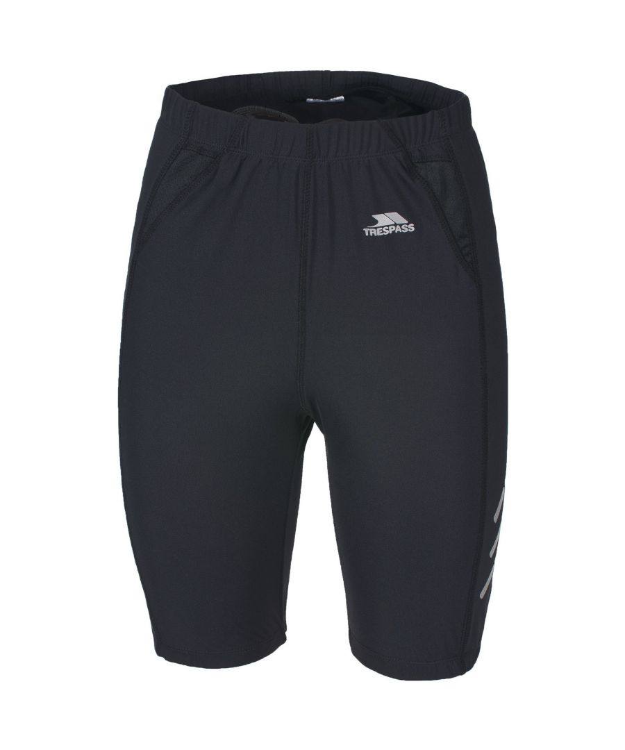 Image for Trespass Womens/Ladies Striding Running Shorts (Black)