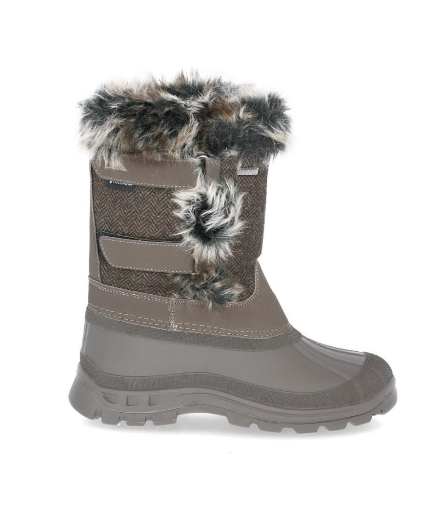 Image for Trespass Womens/Ladies Brace Winter Snow Boots
