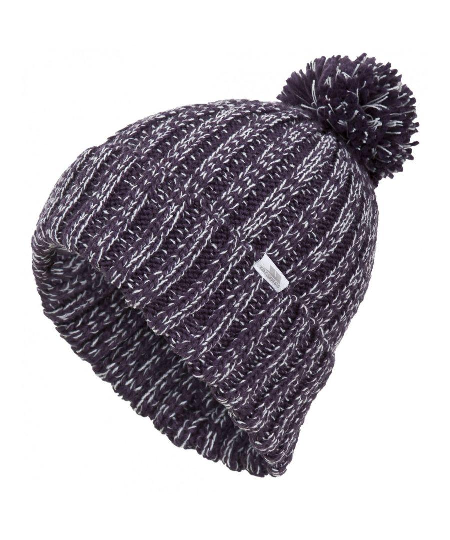 Image for Trespass Womens/Ladies Lockhart Knitted Winter Bobble Hat