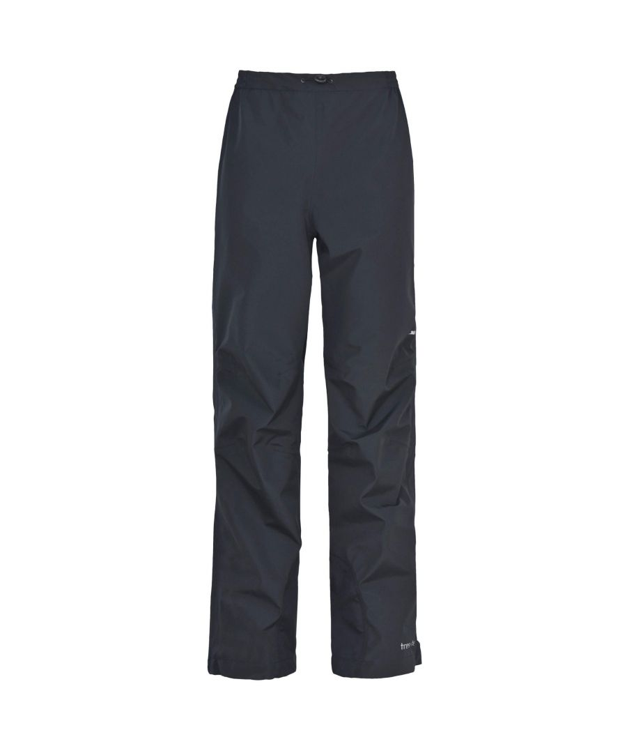 Image for Trespass Womens/Ladies Amelia 3 Layer Waterproof Overtrousers