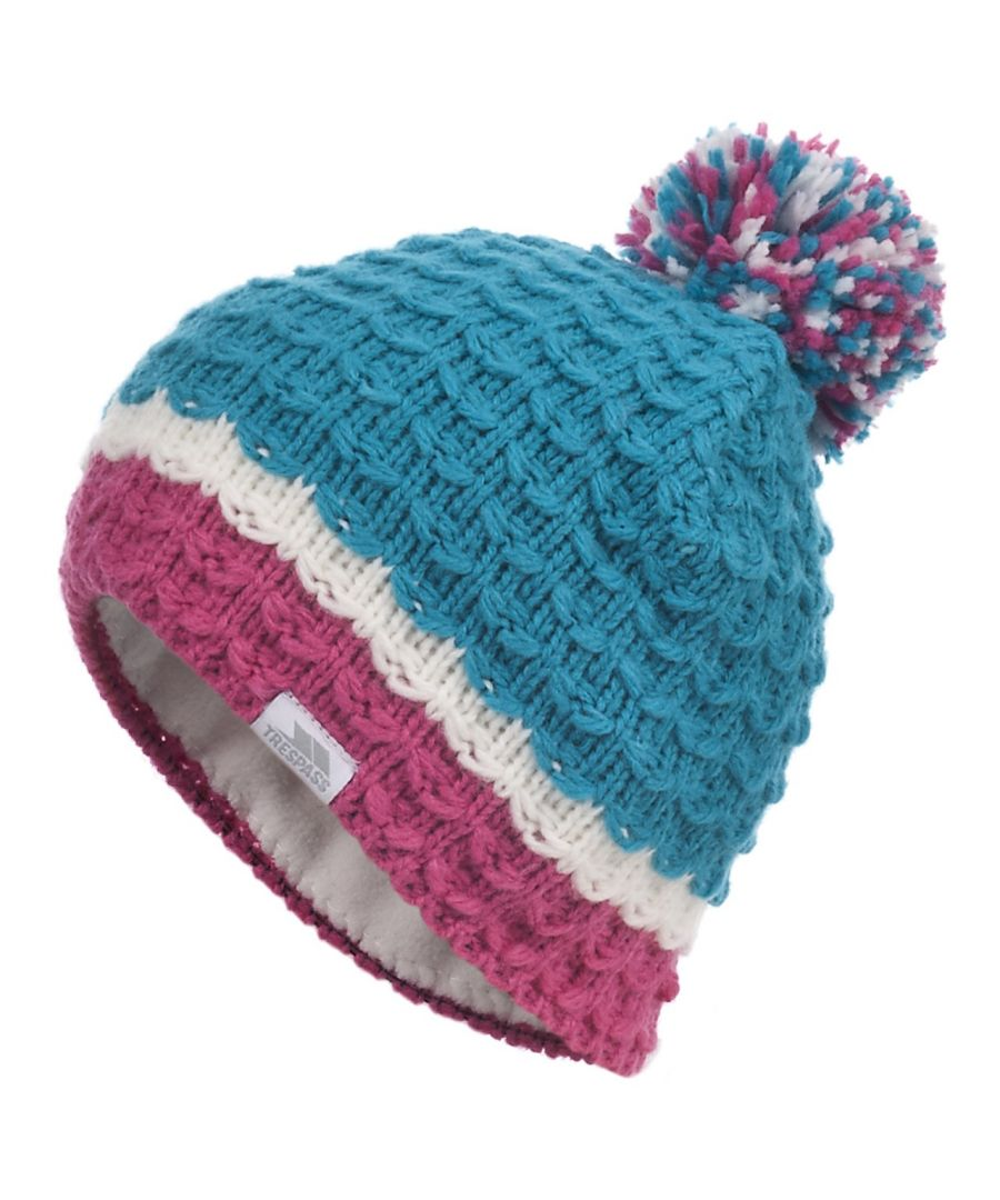 Image for Trespass Childrens Girls Marcella Knitted Winter Hat