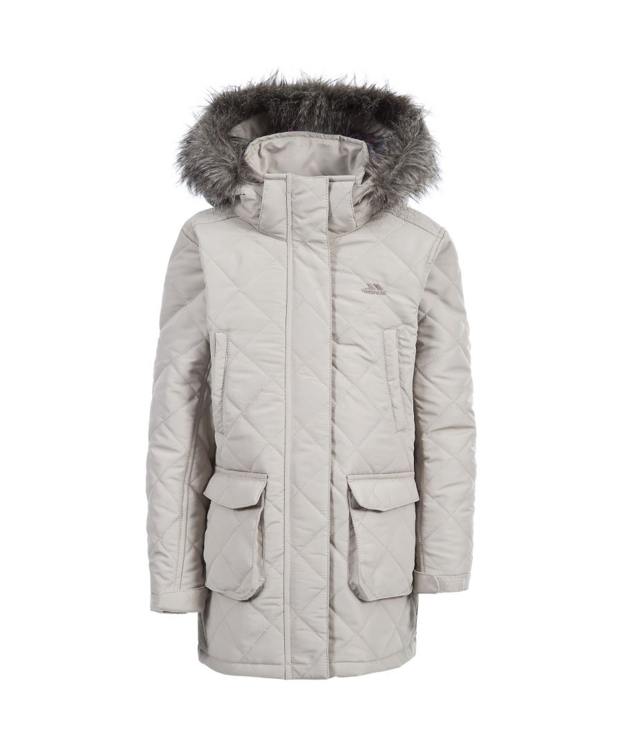 Image for Trespass Childrens Girls Reep Quilted Winter Jacket