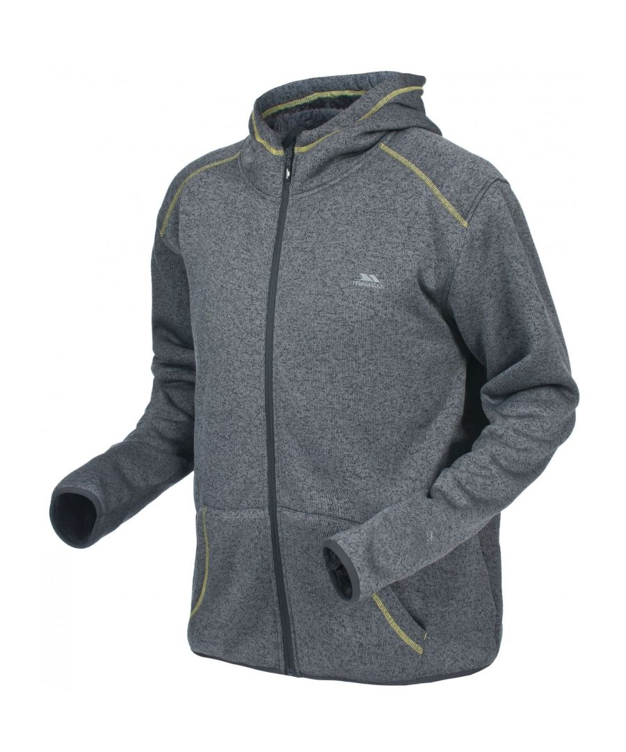 Image for Trespass Mens Dilan Full Zip Hooded Fleece Jacket
