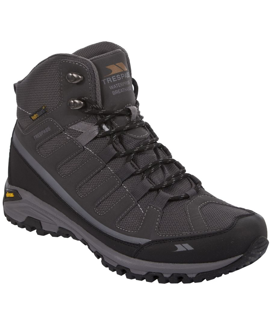 Image for Trespass Mens Tennant Waterproof Hiking Boots