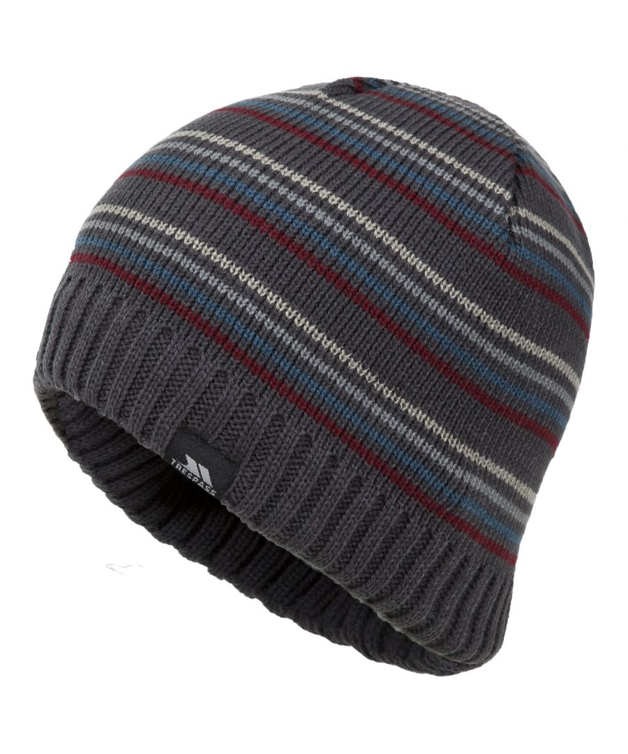 Image for Trespass Mens Ray Knitted Winter Beanie Hat