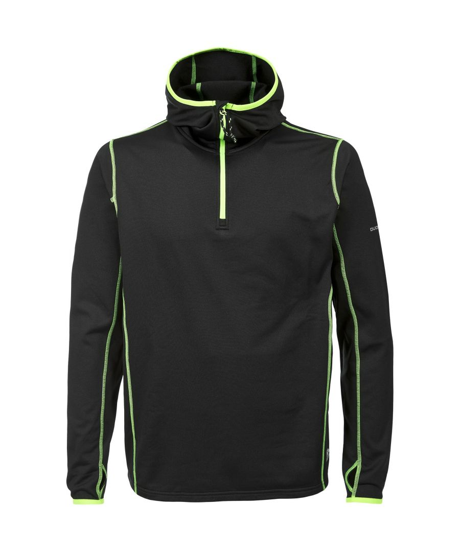 Image for Trespass Mens Oxy Active Long Sleeve Hooded Top