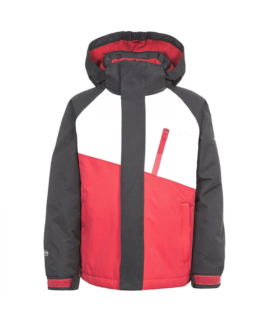Image for Trespass Childrens/Kids Crawley Ski/Snow Set (Black/Red)