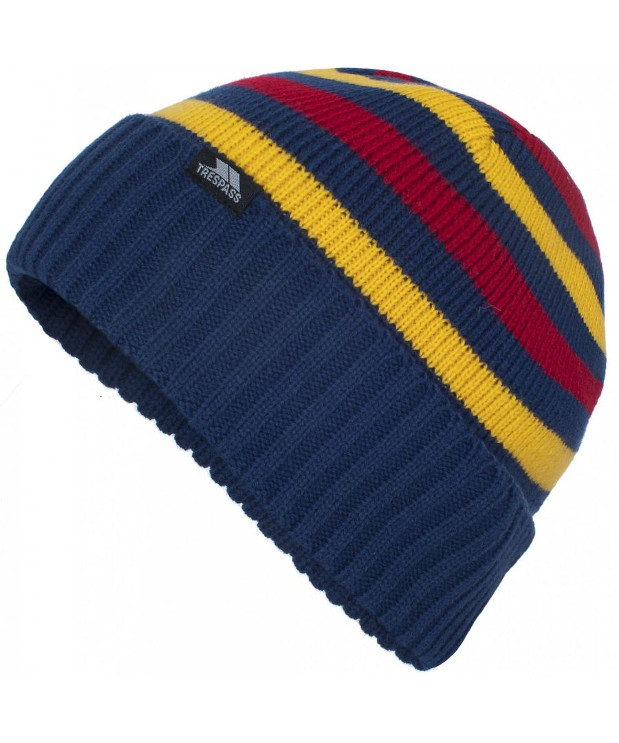 Image for Trespass Kids Boys Jaron Knitted Winter Beanie Hat
