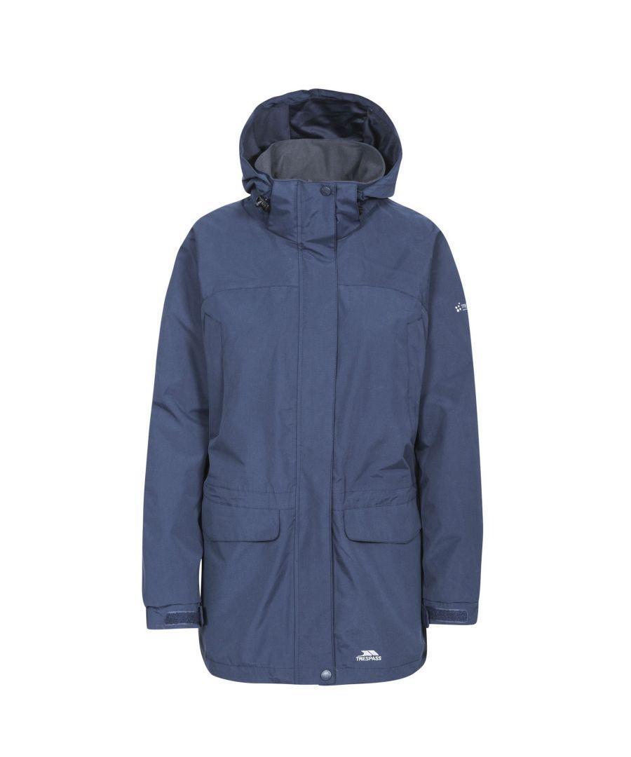 Image for Trespass Womens/Ladies Skyrise Waterproof Shell Jacket