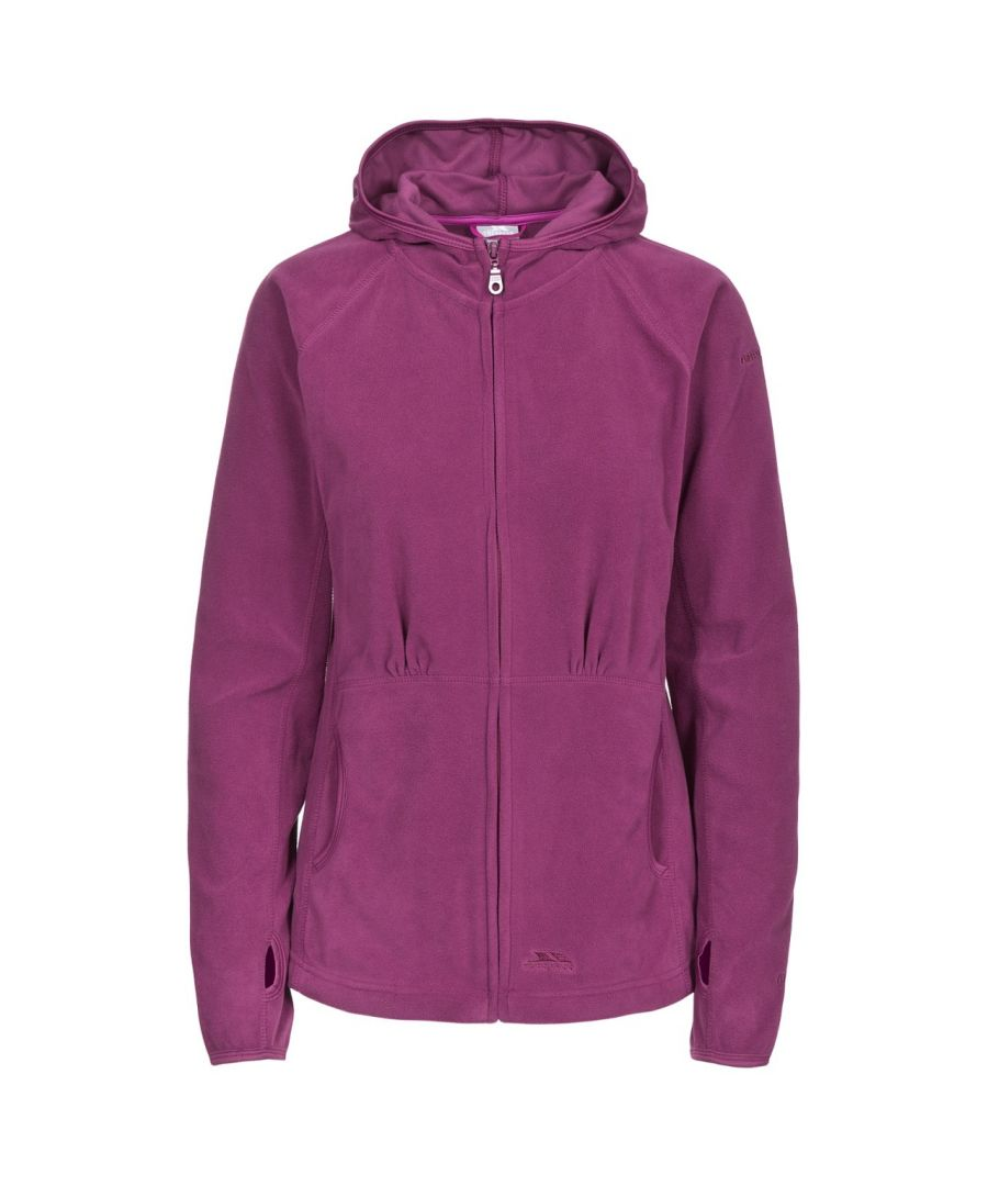Image for Trespass Womens/Ladies Marathon Hooded Full Zip Fleece Jacket