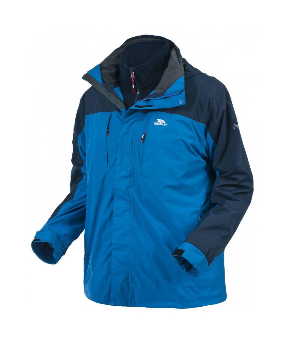 Image for Trespass Mens Faris Full Zip 3 In 1 Jacket