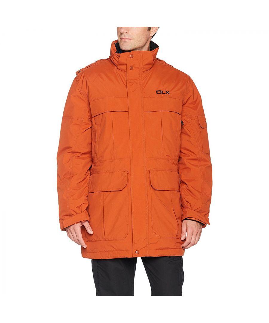 Image for Trespass Mens Highland Waterproof Parka Jacket