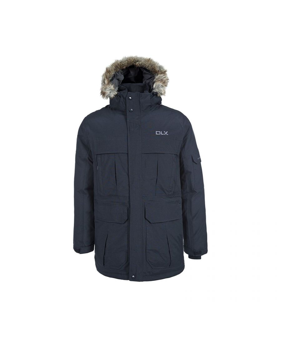 Image for Trespass Mens Highland Waterproof Parka Jacket