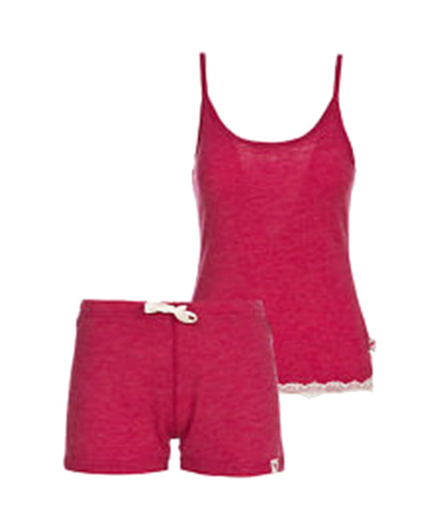 Image for Trespass Womens/Ladies Sashay Merino Wool Base Layer Set (Raspberry)