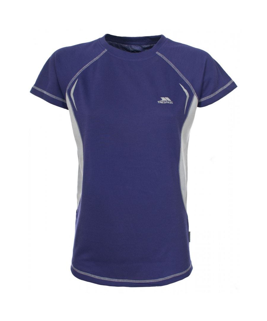 Image for Trespass Womens/Ladies Emmie Active Short Sleeve Baselayer Top