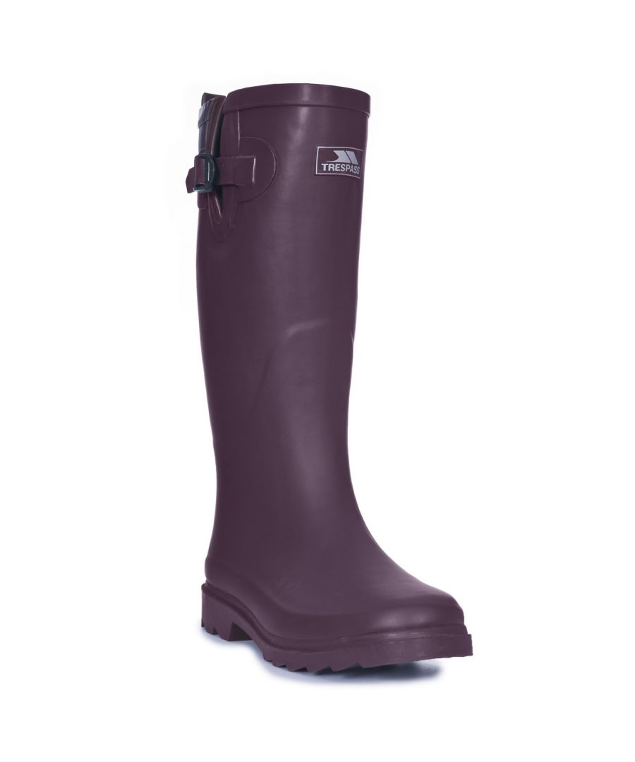 Image for Trespass Womens/Ladies Damon Waterproof Wellington Boots