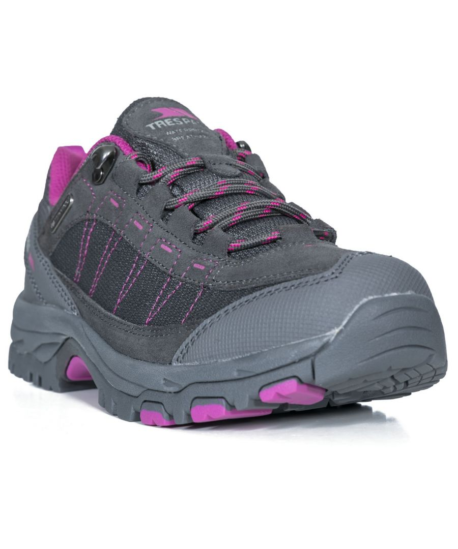Image for Trespass Womens/Ladies Scree Lace Up Technical Walking Shoes
