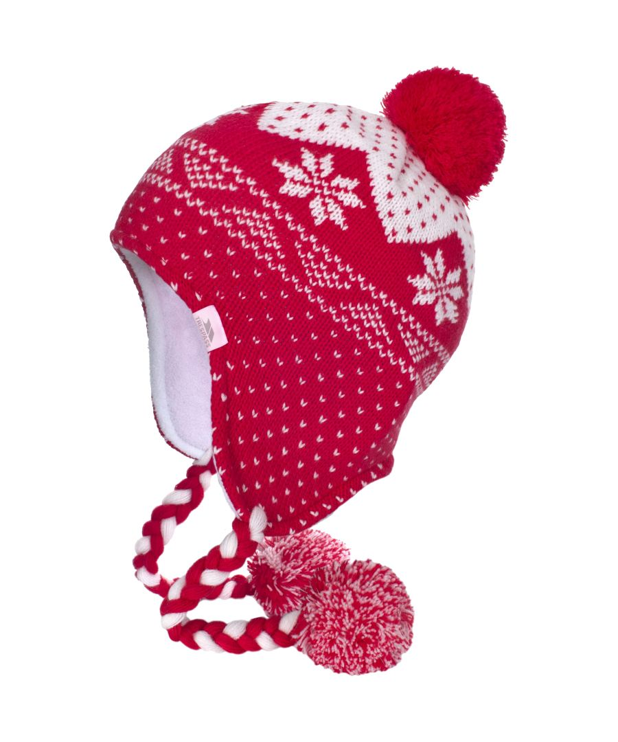 Image for Trespass Womens/Ladies Cynthia Knitted Ear Warmer Hat