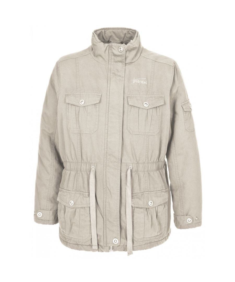 Image for Trespass Womens/Ladies Lakewood Casual Canvas Jacket